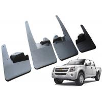 China Durable Plastic Car Mud Guards , ISUZU 2008 DMAX Double Cab OE Mud Flaps on sale