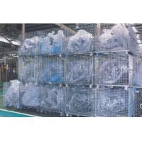 Welded Wire Mesh Containers Warehouse Equipments For Storage Management Manufactures
