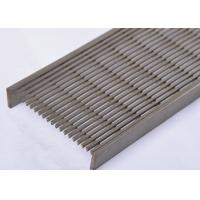 Professional V- Shaped Wedge Wire screen Panel For Long Linear Floor Drain Manufactures