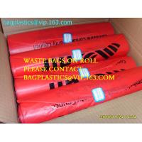 Quality Roll bags with serial number, Polythene bags serial numbered, Serialized Numbers & Barcode, Safe bags, security bags pac for sale