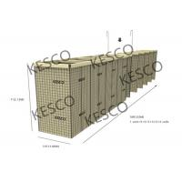 Mil 12 Hesco Barriers For Flood Control And Military Fortifications Manufactures