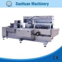 High Accuracy Fully Automatic Cartoning Machine For Cosmetics / Commodity 20m3/h Manufactures