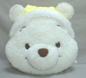 Stuffed cushion - Winnie bear head Manufactures