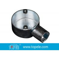 TOPELE 25mm / 32mm BS Electrical Conduit Circular Junction Box For Conduit Fittings Manufactures