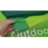 Fabric Outdoor Mesh Banners Sign Wrap For Fence Manufactures