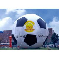 15m Attractive Inflatable Advertising Balloon With Football Shape For Party Manufactures