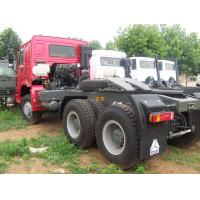 China All Wheel Drive Tractor Prime Mover Truck With 371hp For 40-50T Tow Capacity on sale