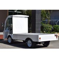 Quality 2 Seats Electric Cargo Van Street Legal Utility Vehicles With Container Box for sale