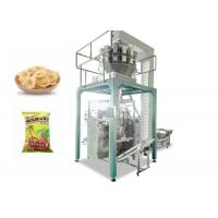 Banana Slices Automated Packing Machine With Computer Weighter High Efficiency Manufactures