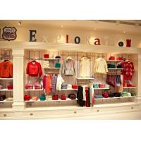 Combinational Children'S Store Fixtures High Wall Shelves And Display Table Manufactures