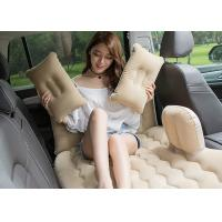 Customized Color Inflatable Car Bed PVC Coating 2 . 6 -  2 . 7KG Packing Weight Manufactures