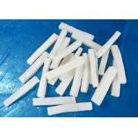 forzen squid strips IQF EU standard size 1*1*10cm chemical off  no additives white color for sale