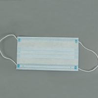 Meltblown Filter Disposable 3 Ply Earloop Face Mask Manufactures