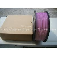 High Quality 3D Printer Filament PLA 1.75mm 3mm For White To Purple  Light change  filament Manufactures