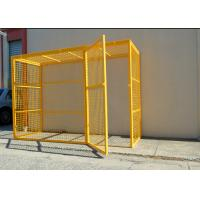 China Folding Steel Stackable Storage Cage Design Metal Cages Gas Bottle Storage Cage on sale