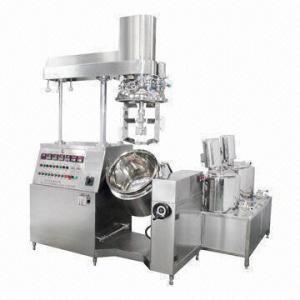 Vacuum Emulsifier/Homogenizer, Ideal Cream Ointment Manufacturer Manufactures