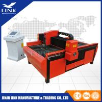 China 100 Amp Table Computerized Plasma Cutter Machine With Flame Cutting Head on sale