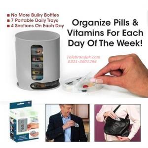 7 - Day Medicine Pill Box Organizer Manufactures
