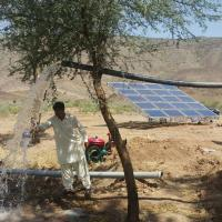 4kw Solar Pv Water Pumping System / Solar Powered Water Pump Kit For Farming Manufactures
