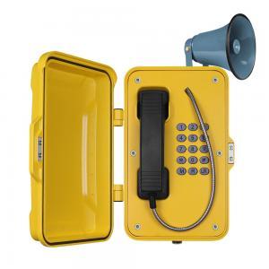 Out Door SOS Industrial Weatherproof Telephone With Full Keypad In OEM Manufactures
