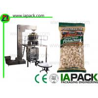 Pistachio Nuts Packaging Machine , Vertical Form Fill Sealing Machine Manufactures