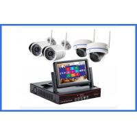 Custom Wireless CCTV Camera Kits 4 Channel MP Indoor / Outdoor Cameras Manufactures