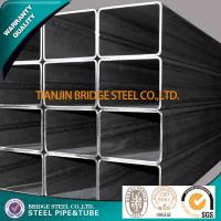 Q195 Q235 Q345 Welded Square Steel Tube , ASTM A500 BS1387 Structure Pipe Manufactures
