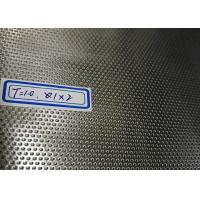 Small Round Hole Perforated Metal For Filter Attractive Appearance Corrosion Resistant Manufactures