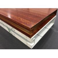 Quality Decorative Square Aluminium Baffle Ceiling Customized Thickness for sale