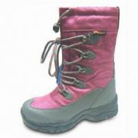 China Snow Boot with Rubber Sole, Available in Different Sizes and Colors on sale