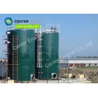 Glass Fused To Steel Bolted Municipal Sewage Storage Tank Panel Size  2.4M * 1.2M Manufactures