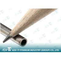 Thin Wall Capillary Seamless Titanium Pipe Grade 1 For Medical Manufactures