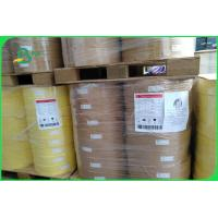 China 60gsm 120gsm Food Grade Brown Kraft Paper Roll Making Straw Biodegredable FDA on sale