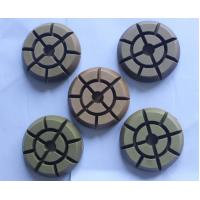 12 Thick Wet Dry Diamond Polishing Pads , 3 Inch Diamond Polishing Pads For Concrete Manufactures