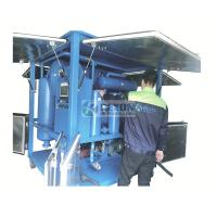 China Raining Proof Type High Efficiency Vacuum Insulating Oil Purifier Machine for Power Plant Maintenance on sale