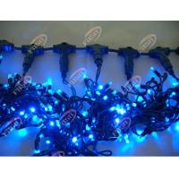 China Waterproof IP44 High Intensity Blue Indoor String LED Curtain Light for Window Lighting on sale