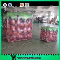 China Inflatable Advertising Balloons / Inflatable Red Cube ball / Inflatable Square Helium With on sale