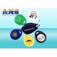 Eco - Friendly 125KHz RFID Key Fob IP 64 Waterproof , ABS Material Rfid Key Tag Manufactures