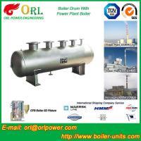 Low Pressure Alloy steel drum Boiler Mud Drum TUV with 10~1000ton Manufactures
