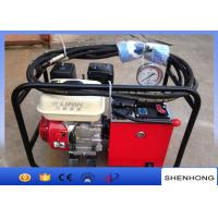 High Efficiency Overhead Line Construction Tools Two Stage Hydraulic Pump Manufactures