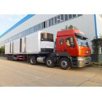 3 Axle Refrigerated Semi Trailer , Meat Transport Trailer 35t - 50t With Mechanical Suspension System Manufactures