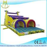 China Hansel early years outdoor play equipment,obstacle sport game for kids on sale