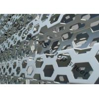 China AUDI 4S Shop Expanded Metal Mesh With Grey Color For Decoration Wall Panel on sale