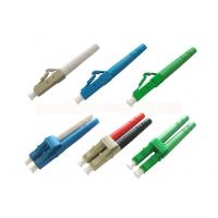 China Duplex LC Fiber Optic Connector with UPC APC Ceramic Fiber Ferrule on sale
