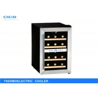 Small Thermoelectric Wine Refrigerator / Stainless Steel Wine Cooler Manufactures