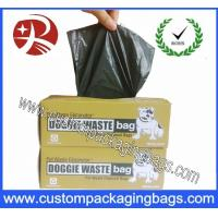 China Degradable Plastic Dog Poop Bags With Box For Animal on sale