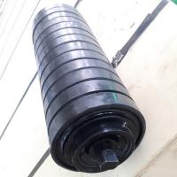 Impact roller /Buffer idler/ rubber idler black 89-219 Can also be customized according to customer requirements china Manufactures