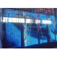 Static Driver Mode Programmable Hd Flexible Led Panel Full Color W 8 X H 64 Dots Manufactures