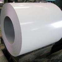 China White Color Coated Aluminum Coil Pvdf Coated Aluminum ISO Certification on sale