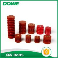 Yueqing DOWE ZJ3-24Q 24KV Red Bus Insulator Epoxy Material 70x210 High Voltage Insulator Support Manufactures